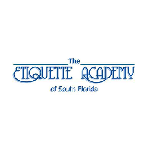 Etiquette Academy of South Florida / logo designed by Jacob Rousseau