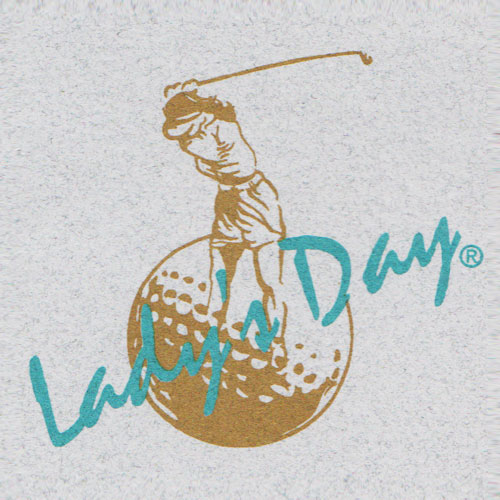 Lady's Day Golf Apparel / Designed by Rousseau Graphic Design Group, Inc.
