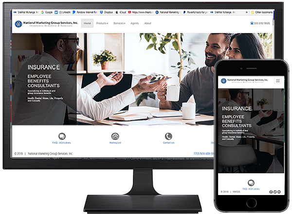 National Marketing Group Services / site by Jacob Rousseau