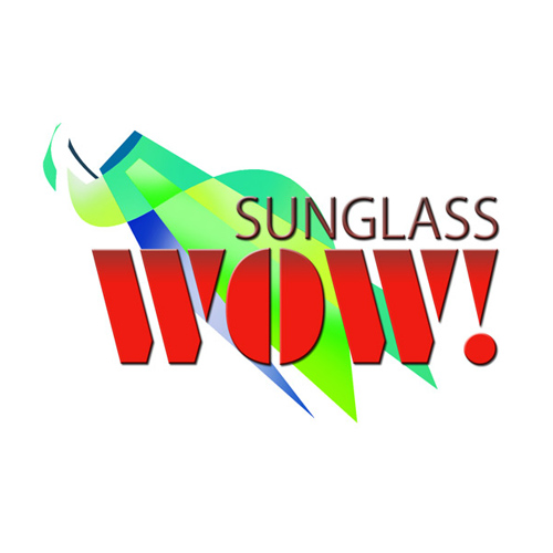 Sun Glass Wow / logo designed by Jacob Rousseau