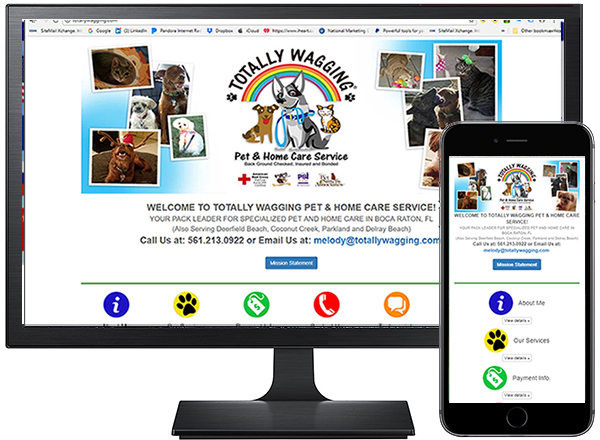 TOTALLY WAGGING PET & HOME CARE SERVICE / site by Jacob Rousseau